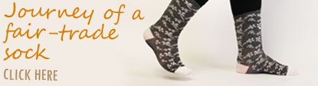 Journey of a fair-trade sock