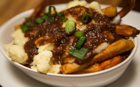 Green Bean And Mushroom Poutine Recipes — Dishmaps
